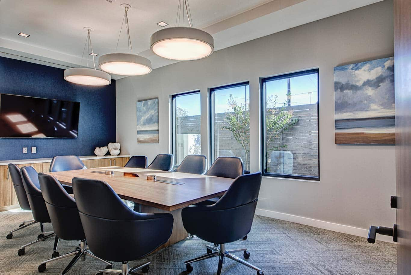 Commercial Real Estate Conference Room